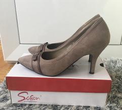Šafran cipele na štiklu