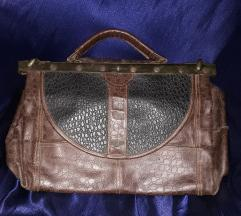 Leder Land Vintage kozna torba SNIZENO SA 2500