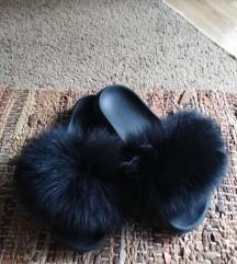Cupave papuce od prirodnog krzna