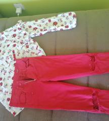 Set pantalone i košulja