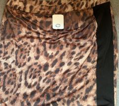 Nova C&A tigrasta suknja, L