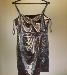 Zara Zlatna nova haljina