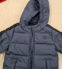 Benetton plava zimska jakna