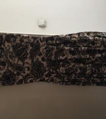 SNIZENO 900 Prelepa haljina do kolena sa printom