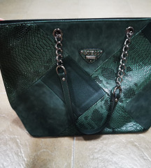 Guess zelena torba nova