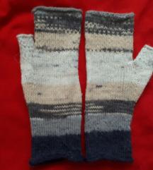 Ručno pravljene vunene rukavice UNIKAT