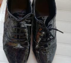 Ravne kozne cipelice