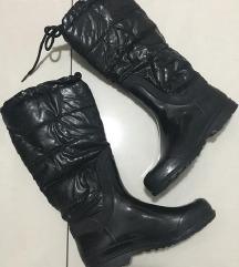 Cotton gumene cizme za sneg i kisu - postavljene