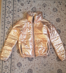 Zlatna hromirana jakna