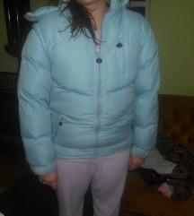 Plava zimska jakna ODLICNA