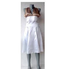 bela haljina oko vrata broj S ili XS