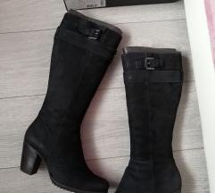 SNIZENO Ecco crne cizme sa krznom, dodatne slike