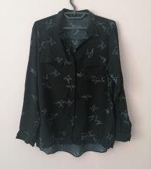 Zara košulja sa šarama, kao nova