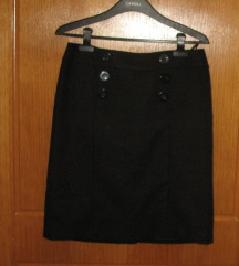 Mark Adam New York, klasik suknja od kase, novo, M