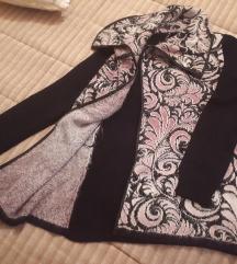 Roze dugi džemper