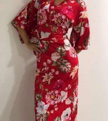 Kimono haljina saten UNIKAT