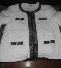 MONA bela jakna vel.L, nova