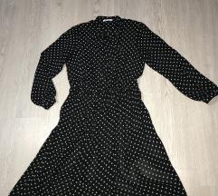 Zara haljina sa tufnicama-L