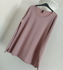 Soyaconcept puder roze basic majica dugih rukava