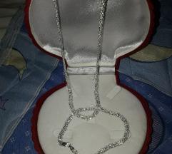 Komplet ogrlica narukvica