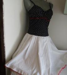 Heppening haljina tufnice i belo S