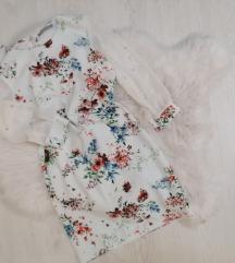 Haljina cvetni print