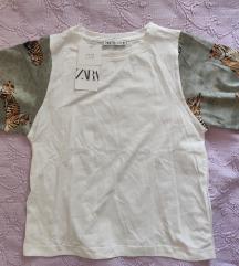 NOVO Zara Majica sa kontrastnim rukavima