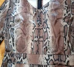 Unikatna haljina animal print NOVO-snizena