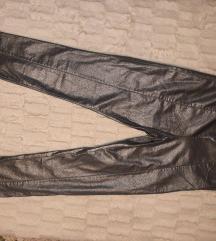 H&m srebrne pantalone duboke