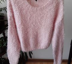 Crop top džemper