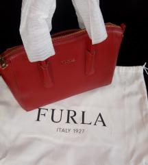 Furla crvena kozna torba