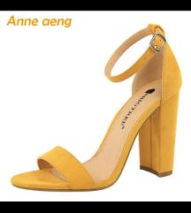 Žute sandale 36