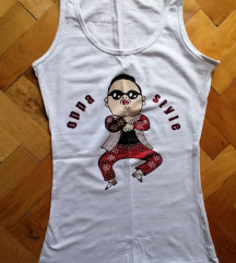Bela atlet majca Gangam Style S