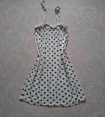 🖤 BOOHOO lagana letnja haljina na tufnice 🖤