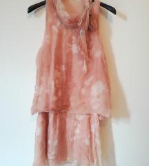 Svilena haljina T.U. univerzalne velicine