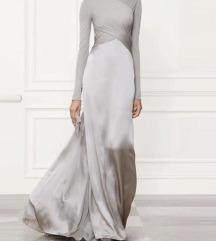%%Srebrna svecana haljina
