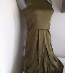 Nova Amisu zelena haljina S
