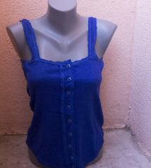 Vintage topić kraljevsko plave boje