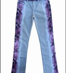 Just Cavalli white Diamond pantalone 28