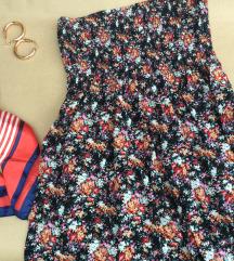 Floralna top haljina