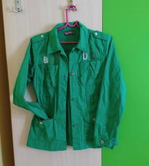 Zelena teksas jakna RASPRODAJA