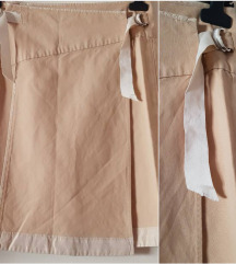 %%11.000-Max Mara bež suknja, original