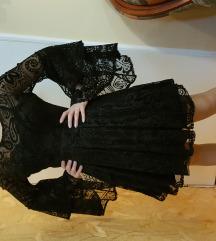 SELECTION svecana crna haljina M