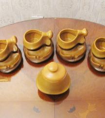 Keramički set za kafu / Pogodan za pušače