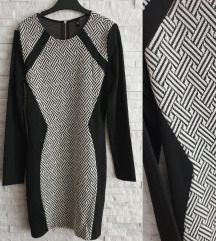 NOVA H&M haljina na duge rukave M/L