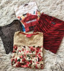 4 majice S-M