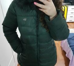 Zimska jakna sa pravim krznom