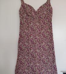 Pamučna letnja haljina retro kroja, vel. M