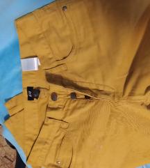 Pantalone boje senfa
