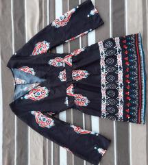 Zanimljiva lagana haljina